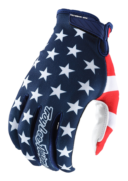 hot-vente authentique profiter du prix de liquidation lisse Gants air americana navy/red - Troy Lee Designs®
