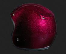 CASQUE OPEN FACE METAL FLAKE PURPLE
