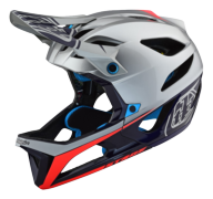 CASQUE STAGE MIPS RACE SILVER/NAVY
