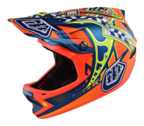 CASQUE D3 COMPOSITE LONGSHOT ORANGE