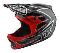 CASQUE D3 COMPOSITE CORONA RED/GRAY