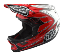 CASQUE D3 COMPOSITE CORONA RED/WHITE