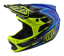 CASQUE D3 COMPOSITE CORONA FLO YELLOW/BLUE
