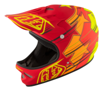 CASQUE D2 FUSION RED