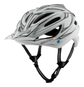 CASQUE A2 MIPS PINSTRIPE WHITE/REFLECTIVE
