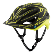 CASQUE A2 MIPS PINSTRIPE BLACK/YELLOW