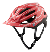 CASQUE A2 MIPS PINSTRIPE RED/BLACK