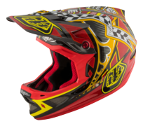 CASQUE D3 CARBON MIPS LONGSHOT RED