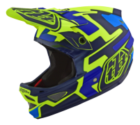 CASQUE D3 FIBERLITE SPEEDCODE YELLOW/BLUE