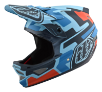 CASQUE D3 FIBERLITE SPEEDCODE BLUE/BLACK