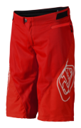 SHORT SPRINT SOLID RED