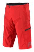 SHORT MOTO SOLID RED