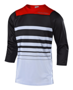 MAILLOT RUCKUS STREAMLINE WHITE/BLACK