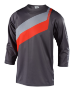 MAILLOT RUCKUS PRISMA GRAY/ORANGE