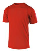 MAILLOT SKYLINE SOLID HEATHER RED
