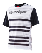 MAILLOT SKYLINE DIVIDED BLK/WHT