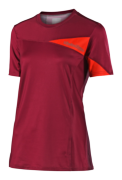 MAILLOT SKYLINE SOLID BURGUNDY WOMEN