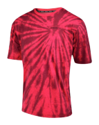 MAILLOT NETWORK TIE DYE RED