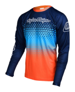 MAILLOT SPRINT STARBURST NAVY/ORANGE