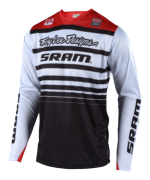 MAILLOT SPRINT SRAM WHITE/BLACK