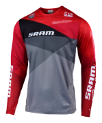 MAILLOT SPRINT SRAM JET GRAY/RED