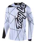 MAILLOT SPRINT METRIC WHITE/BLACK YOUTH
