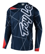 MAILLOT SPRINT METRIC NAVY/RED YOUTH