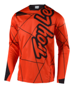 MAILLOT SPRINT METRIC ORANGE/BLACK YOUTH