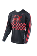 MAILLOT SUPER RETRO CHECK BLACK/RED