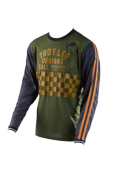 MAILLOT SUPER RETRO CHECK ARMY GREEN