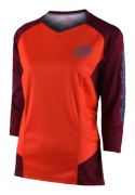 MAILLOT RUCKUS SOLID ORANGE WOMEN