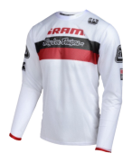 MAILLOT SPRINT AIR SRAM TLD RACING WHITE