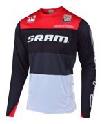 MAILLOT SPRINT ELITE SRAM BETA BLACK/RED
