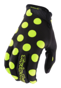 GANTS AIR POLKA BLACK/FLO YELLOW YOUTH