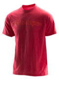 TEE SHIRT SIGNATURE HTR RED/RED