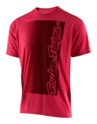 TEE SHIRT HALFWAY RED HTR