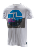 TEE SHIRT AFTER EFFECT WHITE
