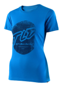 TEE SHIRT STOMP TURQUOISE WOMEN