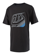 TEE-SHIRT PRECISION BLACK/BLUE YOUTH