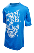 TEE SHIRT MIND MELT HTR CHARC YOUTH