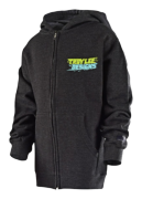 SWEAT ZIP LET LOOSE CHARCOAL HTR YOUTH