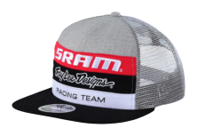 CASQUETTE SRAM TLD RACING GRAY OSFA