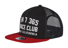 CASQUETTE RACE CLUB GRAPHITE/RED YOUTH