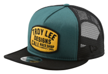CASQUETTE BLOCKWORKS PINE NEEDLE GREEN/GOLD
