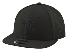 CASQUETTE AGENT SKULLY BLACK