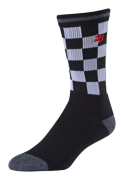CHAUSSETTES CHECKER CREW BLACK