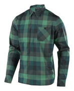 CHEMISE GRIND FLANNEL PLAID GREEN