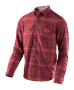 CHEMISE GRIND PLAID RED