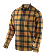 CHEMISE GRIND PLAID YELLOW
