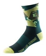 CHAUSSETTES ACE PERF CREW CHOP BLOCK ARMY GREEN